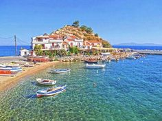 Isla de Samos. Grecia