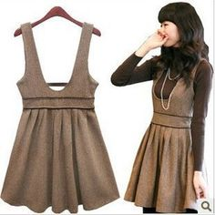 Taupe basque with accented waist and short gathered skirt