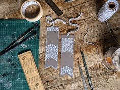 Monochrome Print, Bookmark Printing, How To Make Bookmarks, Eco Friendly Paper, All Paper, Leaf Prints, Gold Leaf, Mixed Media Art, Twine