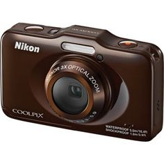 Shop Nikon COOLPIX S31 10 Megapixel Rugged Digital Camera - Brown online at lowest price in india and purchase various collections of Digital Cameras in Nikon brand at grabmore.in the best online shopping store in india