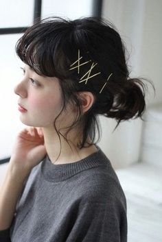 This time, we will introduce you to a hair arrangement that works great with Bob Hair, from the classic arrangement to the one with hair accessories. Kawaii Hairstyles, Pigtail Hairstyles, Bobby Pin Hairstyles, Headband Hairstyles, Braided Hairstyles, Hair Scarf Styles, Curly Hair Styles, Hair Styles For Women Over 50, Hair Arrange