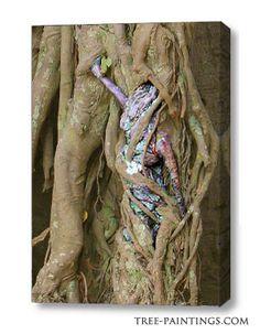 """Tree Love"" canvas"