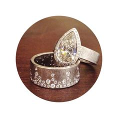 Stunning - I covet this ring and band!