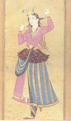 Persian court