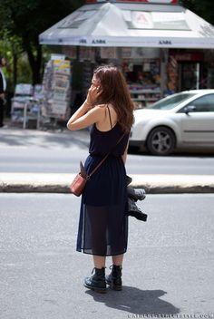On The Street, Kolonaki Square Athens Streetstyle