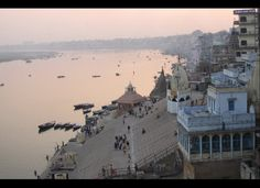 The Ganges River, Hinduism's holiest waterway, flows south from the soaring Himalayas before cutting through Varanasi, India, a city nearly as old as Mesopotamia that serves today as the heart of the world's third largest religion and one of its most sacred places. According to Hindu tradition, the river itself is a goddess who washes away the sins of mankind - and draws thousands of pilgrims each day to seek spiritual cleansing and salvation in its waters. A walk along the Ganges exposes…