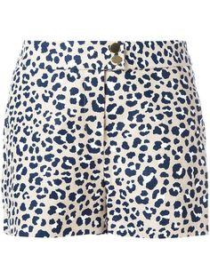 MICHAEL MICHAEL KORS Leopard Print Shorts. #michaelmichaelkors #cloth #shorts