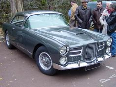 These Facel Vegas were stunning French cars, big tourers powered by US motors.