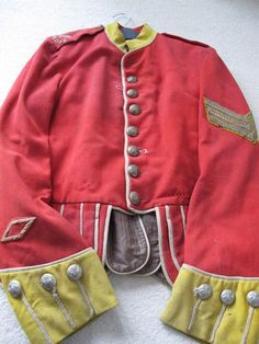 Scottish Victorian Military Gordon Volunteers Tunic