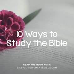 Want to dive into the Word, but aren't sure where to start? Here are 10 different methods.