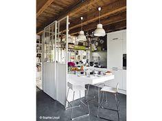 diy une cloison amovible en cordage hisse et oh bureau pinterest bricolage. Black Bedroom Furniture Sets. Home Design Ideas