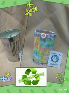 Reciclado con latas
