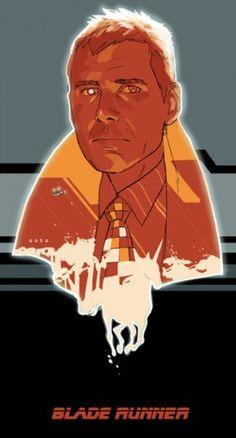 Blade Runner - Phil Noto does Rick Deckard.