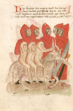 """demonagerie: """" Bayerische Staatsbibliothek. Weltchronik. Sibyllenweissagung. Antichrist - BSB Cgm 426, [S.l.] Bayern, third quarter 15th century. """""""