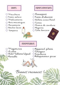 Print your suitcase guidelines on your trip 2 CheckList Checklistv