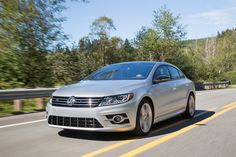The Volkswagen CC's stylized sweeping roofline, dramatic body detailing…