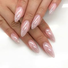 Pearl The best new nail polish colors and trends plus gel manicures, ombre nails, and nail art ideas Gel Nails, Acrylic Nails, Nail Polish, Pink Nails, Baby Nails, Metallic Nails, Sparkle Nails, Clear Nails, Pastel Nails