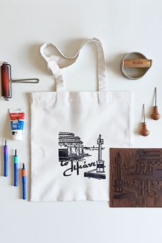 star shopper bag gift for mum Tote Bag cotton short handled bag tote bag handbag woven bag fabric bag lined bag college bag