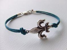 Fleur de lis bracelet love it!