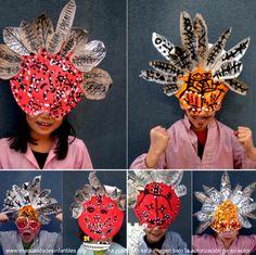Pincha en este enlace y verás muchas ideas para hacer una máscaras originales y recicladas para este carnaval  http://www.manualidadesinfantiles.org/como-hacer/mascaras-de-carnaval