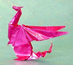 This guy's origami is *amazing*. Plus he offers patterns and directions, even videos, for some of his folds.