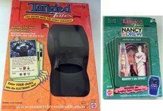 Jenn's Nancy Drew Collection - Nancy Drew Girl Detective Collectibles - Mattel Tangled Tales Game - www.nancydrewsleuth.com