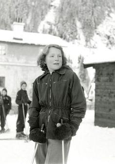 Prinses Irene op wintersport (NL)