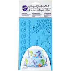 Wilton Fondant & Gum Paste Mold, Sea Life