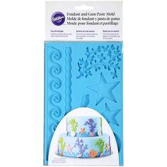 Wilton Fondant & Gum Paste Mold, Sea Life