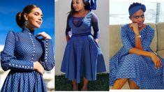 New Seshoeshoe Traditional wedding outfits - Fashion Sesotho Traditional Dresses, Pedi Traditional Attire, African Fashion Traditional, Traditional Wedding, Short African Dresses, African Fashion Designers, Latest African Fashion Dresses, African Print Dresses, Seshweshwe Dresses