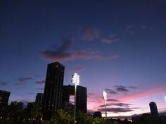 Happy birthday! Under the bright lights as always Jimmy! #jimmyborges #sunsets #sunset #Waikiki #hawaii #honolulu #ハワイ #ホノルル #サンセット #ワイキキ #instasunset #sky #instasky #igsunset #orange #birthday #amazingsunset #clouds #cloud #cloudporn #colors #nofilter #awesome #nofilterneeded #おつかれさま #colors #sky #orange  #igers #igersunset #paradise #photooftheday #nofilter #nofilters