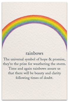 Inside Message: May peace enfold you. Inside Message: May your ankles look skinny, your feet look small, and orthos be decades away! Words Quotes, Wise Words, Me Quotes, Beauty Quotes, Wisdom Quotes, Qoutes, Stolz Tattoo, Rainbow Quote, Rainbow Sayings