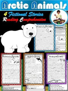 Arctic Animals Research Booklet Templates | Booklet template, Arctic ...