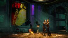 ArtStation - BioShock (Irrational Games), Digital Frontiers Sander Cohen, Bioshock Series, Art Direction, Irrational Games, Lighthouse, Storytelling, Neon Signs, Digital, Artwork