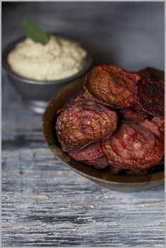 Thyme: Beet Chips...how we 'undo' having eaten our way thru Austin, TX!