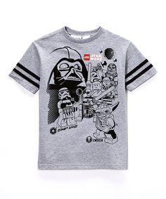 Look at this #zulilyfind! Gray Lego Star Wars Tee - Boys #zulilyfinds