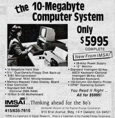 10 MB Computer System