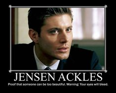 Jensen Ackles is a cutie!=)