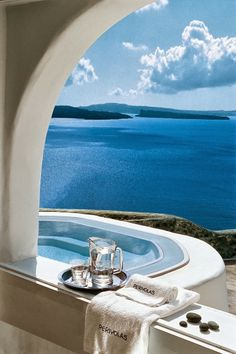 ~~by looks this would be a dream vacation for me!!~~ Perivolas - Greece