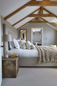 Designing your bedroom in a neutral color palette can be relaxing, timeless…