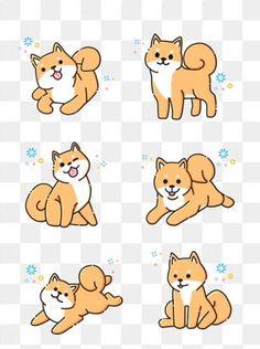 Mbe cartoon cute shiba inu dog animal material PNG and Vector Cute Dog Drawing, Cute Animal Drawings Kawaii, Cute Cartoon Drawings, Cartoon Dog Pictures, Cute Dog Cartoon, Shiba Inu, Wallpapers Kawaii, Cute Cartoon Wallpapers, Dogs Tumblr