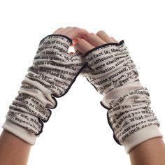 Pride and Prejudice Writing Gloves