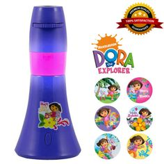 Night-Light-for-kids-bedroom-Dora-the-Explorer-see-pictures-on-the-ceiling-new