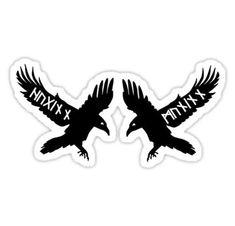 Viking Rune Tattoo, Norse Tattoo, Viking Tattoos, Viking Symbols, Viking Runes, Rabe Tattoo, Celtic Raven, Survivor Tattoo, Anker Tattoo