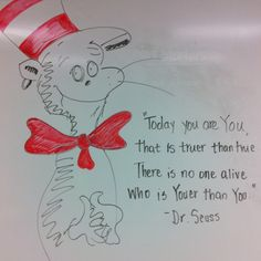Dr. Seuss' birthday quote