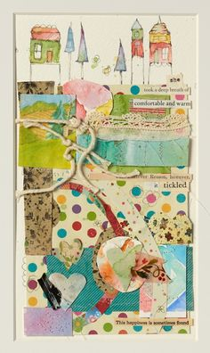 Watercolor Illustrated Story Block by Danielle Donaldson