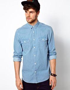 Image 1 ofPrimark Denim Shirt