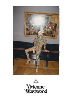 Kate Moss for Vivienne Westwood Gold Label SS 2013 Campaign by Juergen Teller