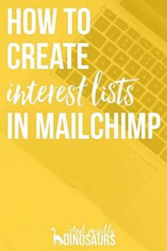 People love being able to set up interest lists in ConvertKit. But it's just as possible to do it in Mailchimp! Here's how to segment your email list by interest.