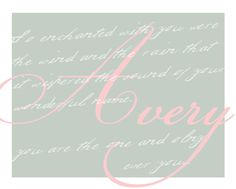 """""""On the Night You Were Born."""" Name Sign available in all colors and sizes.  https://www.facebook.com/AmandaJDesigns"""